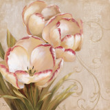 Perfect Blooms I Print by  Nan