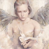 Englens drøm Posters af Elvira Amrhein
