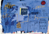 Untitled Poster by Jean-Michel Basquiat