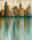City View I Poster by Norm Olson