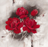 Roses for You Print by Franz Heigl