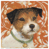 Terrier Prints by K. Tomlin