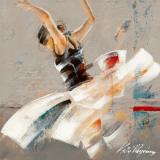 Dance Fusion I Kunstdrucke von Kitty Meijering