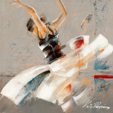 Dance Fusion I Prints by Kitty Meijering