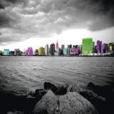 New York Beach Affiches par Anne Valverde