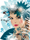 Winter Poster by Mandy Reinmuth