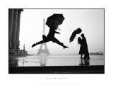 France, Paris, 1989, Eiffel Tower 100th Anniversary Poster von Elliott Erwitt