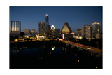 Austin Skyline 2010 Photographic Print by John Gusky