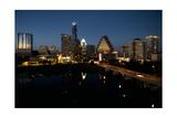 Austin Skyline 2010 Photographic Print by John Gusky