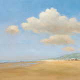 Strandwandeling Art by Jan Groenhart