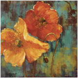Poppies II Posters by Dawna Barton