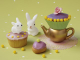Cupcakes and Rabbits Prints by Louis Gaillard