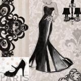 Little Black Dress Affiches par Carol Robinson