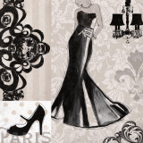 Little Black Dress Prints by Carol Robinson