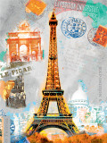 Paris Vintage Prints by Robin Jules