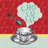 Schokolade Poster von Helene Druvert