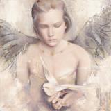 Rêverie d'Ange Affiches par Elvira Amrhein