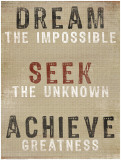 Dream The Impossible Posters