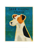 Jack Russell Terrier Kunstdrucke von John Golden