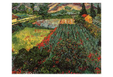 Field of Poppies, Saint-Remy, c.1889 Prints by Vincent van Gogh