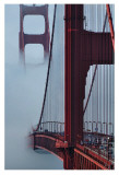 Golden Gate Bridge Posters by Sabri Irmak