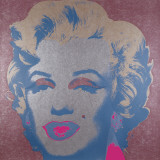 Marilyn Monroe, 1967 (silver) Posters by Andy Warhol