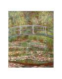 睡蓮の池と日本の橋 1899年 高画質プリント : クロード・モネ