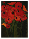 Wild Poppies Poster by Karen Tusinski