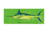 Blue Marlin Prints by John Golden