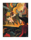 Russian Ballet Posters by August Macke