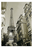 Eiffel Tower Street View, no. 1 Prints by Christian Peacock