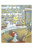 The Circus Affiche par Georges Seurat