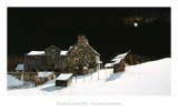 December Moonrise Posters by Peter Sculthorpe