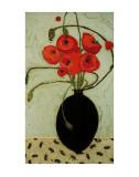 Swirling Poppies Posters por Karen Tusinski