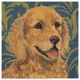 Golden Retriever Art by K. Tomlin