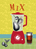 Mix Poster von Helene Druvert