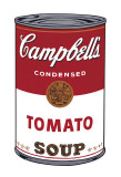 Campbell's suppe I:  Tomat, ca. 1968, Campbell's Soup I: Tomato, c.1968 Kunst af Andy Warhol