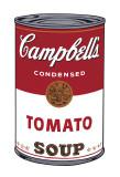 Campbells suppe I: tomat, c. 1968 Kunst av Andy Warhol