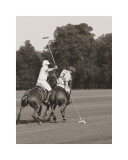 Ben Wood - Polo In The Park II - Art Print