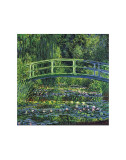 Water Lily Pond, c.1899 (blue) Print by Claude Monet