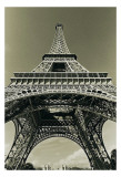 Eiffel Tower Looking Up Posters par Christian Peacock
