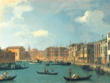 View of the Canal of Santa Chiara Prints by  Canaletto
