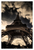 The Eiffel Tower Poster by Mark Verlijsdonk