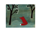 The Fox and the Marshmallows Posters af Kristiana Pärn