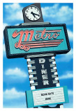Metro Diner Prints by Anthony Ross