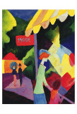Fashion Store Window Prints by August Macke