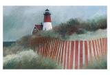 Old Nauset Light Art by Albert Swayhoover