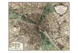 Plan de Paris Affiches