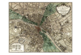 Plan de Paris Prints