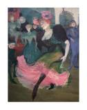 Marcelle Lender Dancing Bolero Art by Henri de Toulouse-Lautrec